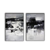 Black and white paintings | Black and white art F79-6