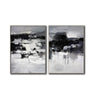 Black and white paintings | Black and white art F79-8