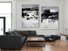 Black and white paintings | Black and white art F79-2