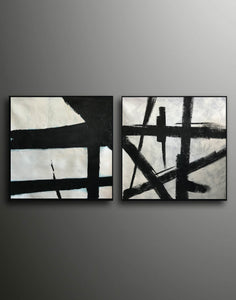 Black white wall art | Black white art F109-8