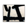 Black white wall art | Black white art F178-6