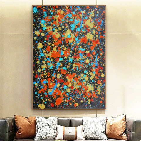 Contemporary canvas art | Original oil paintings | Art painting gallery F168-1