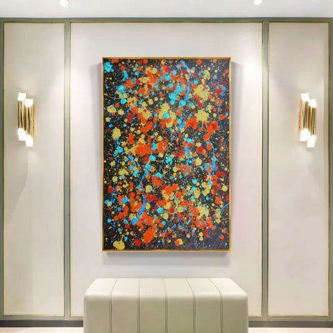 Image of Contemporary canvas art | Original oil paintings | Art painting gallery F168-2