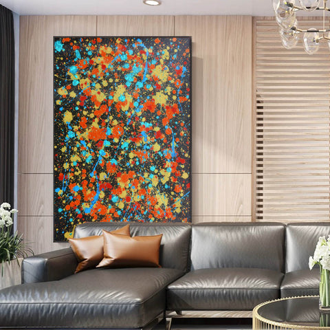 Image of Contemporary canvas art | Original oil paintings | Art painting gallery F168-10