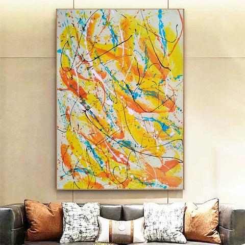 Image of Contemporary oil paintings | Contemporary art painting | Contemporary abstract painting F171-4