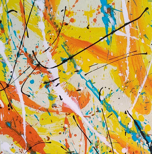 Contemporary oil paintings | Contemporary art painting | Contemporary abstract painting F171-3