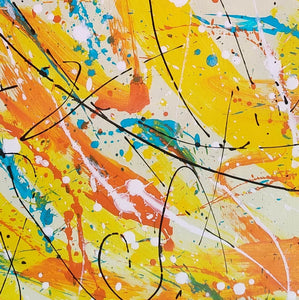 Contemporary oil paintings | Contemporary art painting | Contemporary abstract painting F171-5
