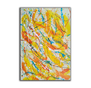 Contemporary oil paintings | Contemporary art painting | Contemporary abstract painting F171-6