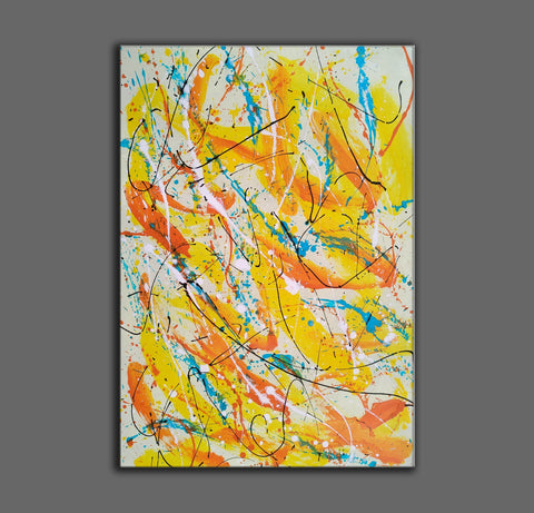 Image of Contemporary oil paintings | Contemporary art painting | Contemporary abstract painting F171-7