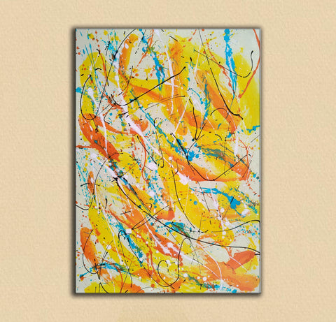Image of Contemporary oil paintings | Contemporary art painting | Contemporary abstract painting F171-8
