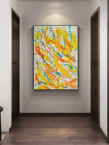 Contemporary oil paintings | Contemporary art painting | Contemporary abstract painting F171-9