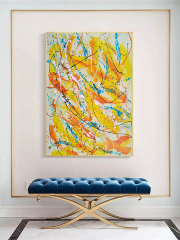 Image of Contemporary oil paintings | Contemporary art painting | Contemporary abstract painting F171-10
