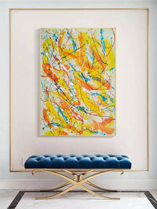 Contemporary oil paintings | Contemporary art painting | Contemporary abstract painting F171-10