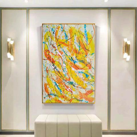 Image of Contemporary oil paintings | Contemporary art painting | Contemporary abstract painting F171-2