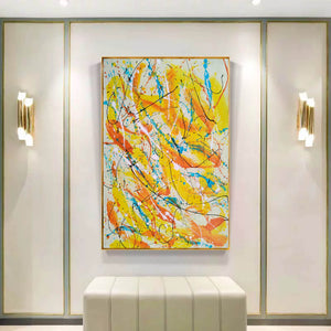 Contemporary oil paintings | Contemporary art painting | Contemporary abstract painting F171-2