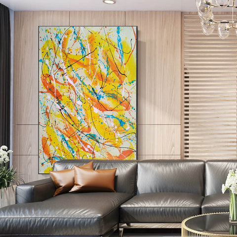 Image of Contemporary oil paintings | Contemporary art painting | Contemporary abstract painting F171-1