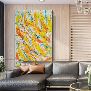 Contemporary oil paintings | Contemporary art painting | Contemporary abstract painting F171-1