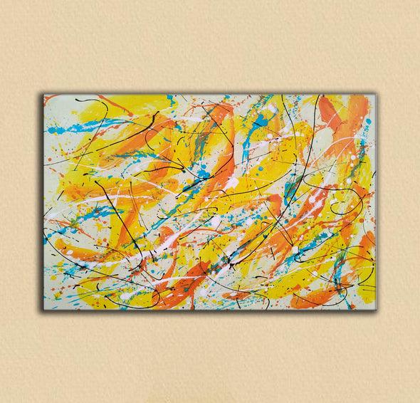 Canvas art painting | Acrylic abstract art F158-5