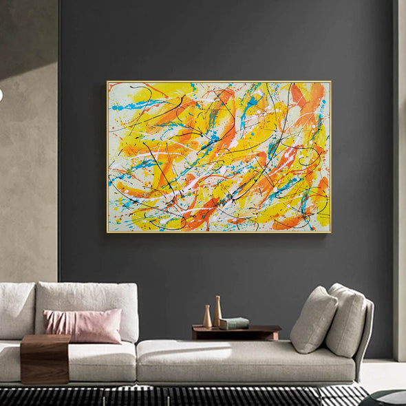Canvas art painting | Acrylic abstract art F158-9