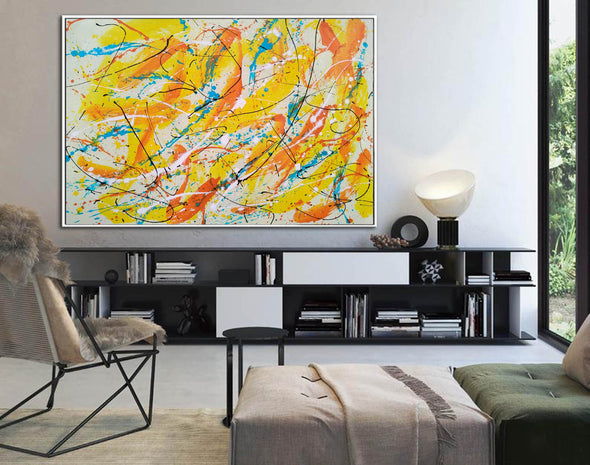 Canvas art painting | Acrylic abstract art F158-10