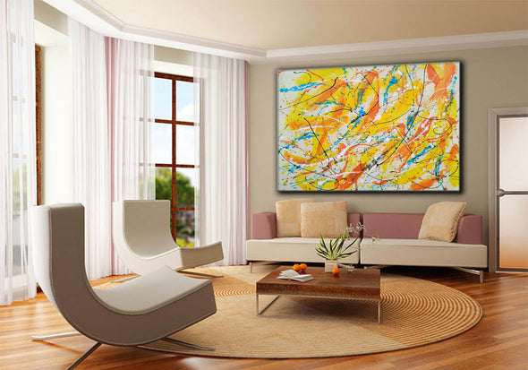 Canvas art painting | Acrylic abstract art F158-11