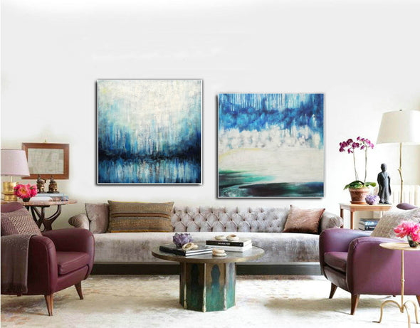 Creative abstract painting | Canvas art paintings abstract F135