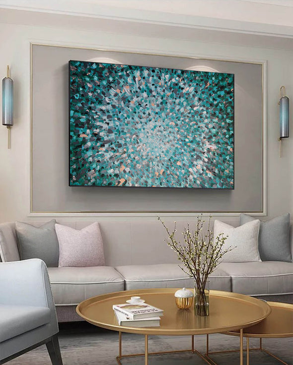 Abstract wall art | Beautiful paintings F145-8