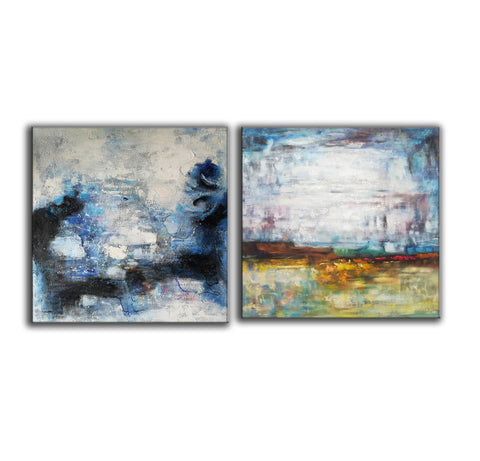 Large original abstract art   Abstract oil painting on canvas F139-4