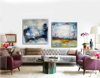 Large original abstract art   Abstract oil painting on canvas F139-9