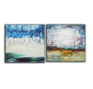 Large original abstract art   Abstract oil painting on canvas F140-4