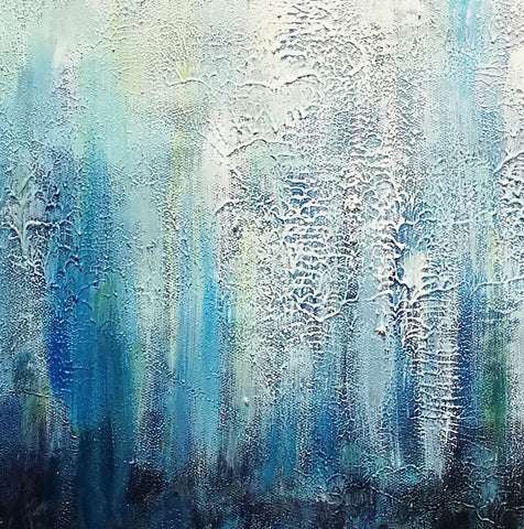Image of Large painting canvas  Abstract expressionism art  Abstract art paintings F120-2