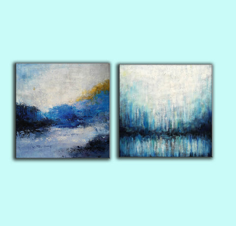 Image of Large painting canvas  Abstract expressionism art  Abstract art paintings F120-3