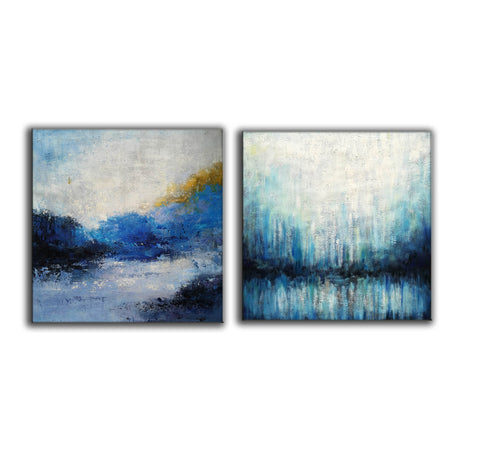 Image of Large painting canvas  Abstract expressionism art  Abstract art paintings F120-4