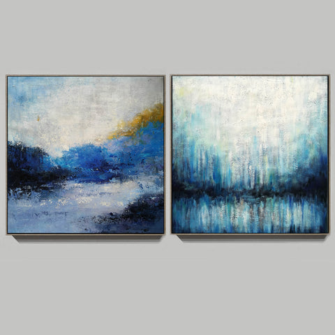 Image of Large painting canvas  Abstract expressionism art  Abstract art paintings F120-6