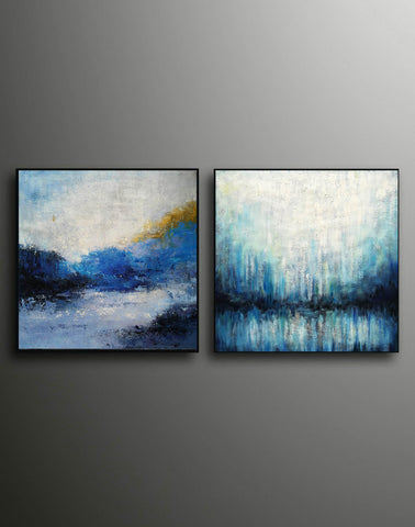 Image of Large painting canvas  Abstract expressionism art  Abstract art paintings F120-8