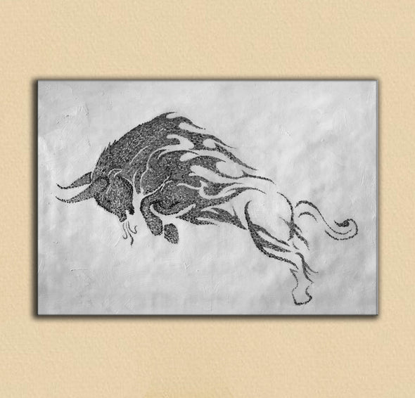 Black white wall art | Black white art F146-6