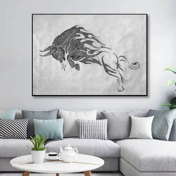 Black white wall art | Black white art F146-1