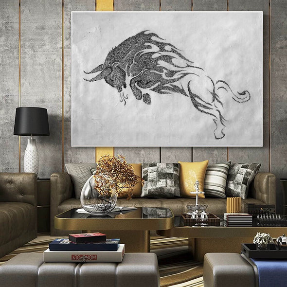 Black white wall art | Black white art F146-9