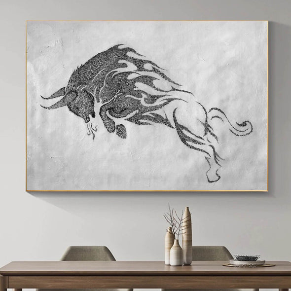 Black white wall art | Black white art F146-2
