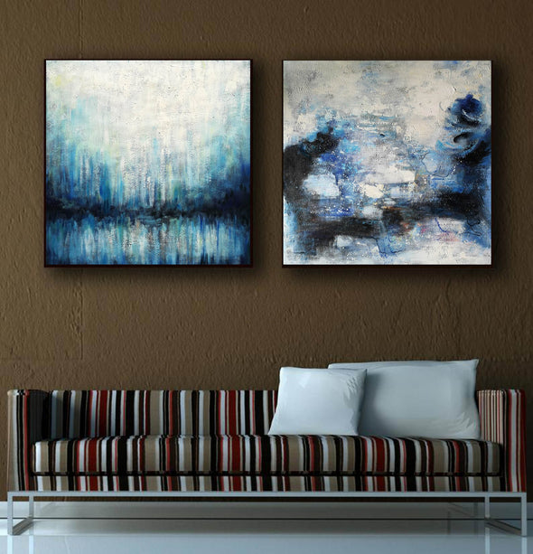 Modern abstract artists paintings  Oil painting abstract canvas F133-2