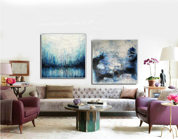 Modern abstract artists paintings  Oil painting abstract canvas F133-1