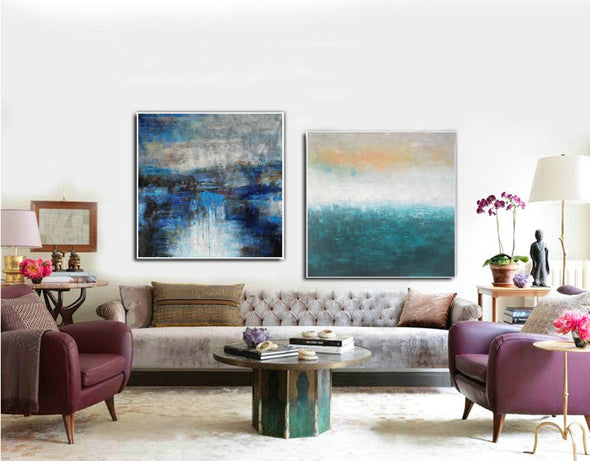 Modern art artists  Large oil painting  Large abstract art F123-1