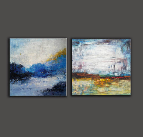 Image of Modern art paintings  Wall art painting  Large paintings F119-4