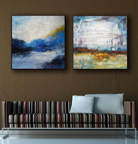 Image of Modern art paintings  Wall art painting  Large paintings F119-2