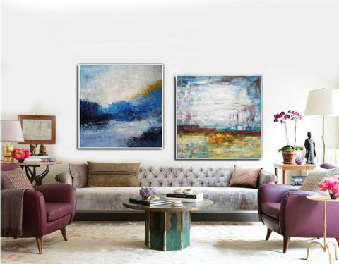 Image of Modern art paintings  Wall art painting  Large paintings F119-1