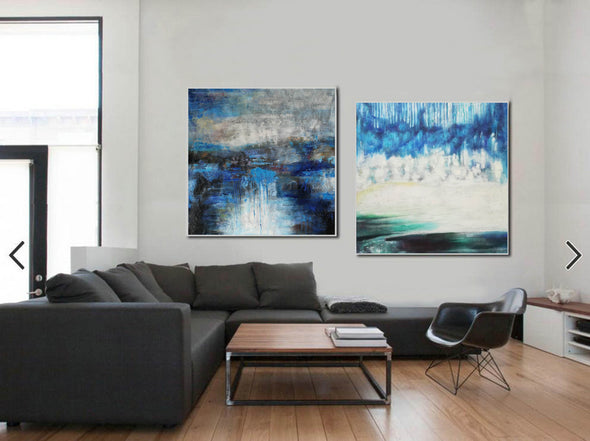 Modern oil paintings  Modern abstract painting  Large abstract painting F124-10