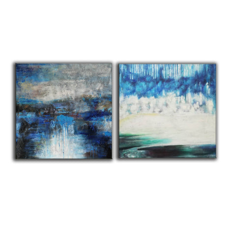 Image of Modern oil paintings  Modern abstract painting  Large abstract painting F124-6