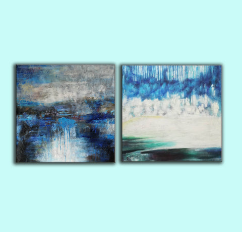 Image of Modern oil paintings  Modern abstract painting  Large abstract painting F124-7