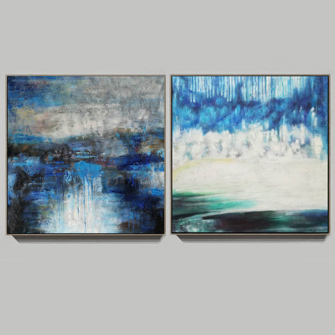 Image of Modern oil paintings  Modern abstract painting  Large abstract painting F124-2