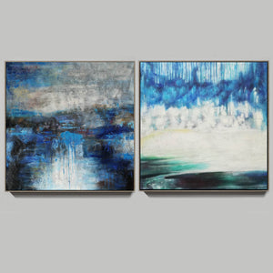 Modern oil paintings  Modern abstract painting  Large abstract painting F124-2
